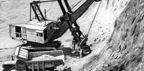 Добыча полезных ископаемых картинка